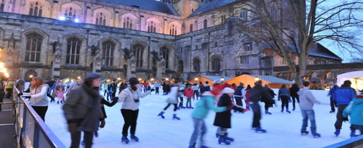 Winchester Christmas Market and Ice Rink