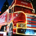 Holidays are Coming - Coca Cola truck